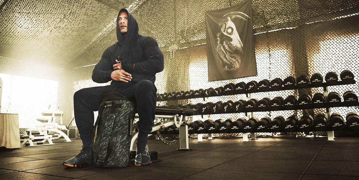 The Rock Built a New Iron Paradise Gym at His Virginia Home