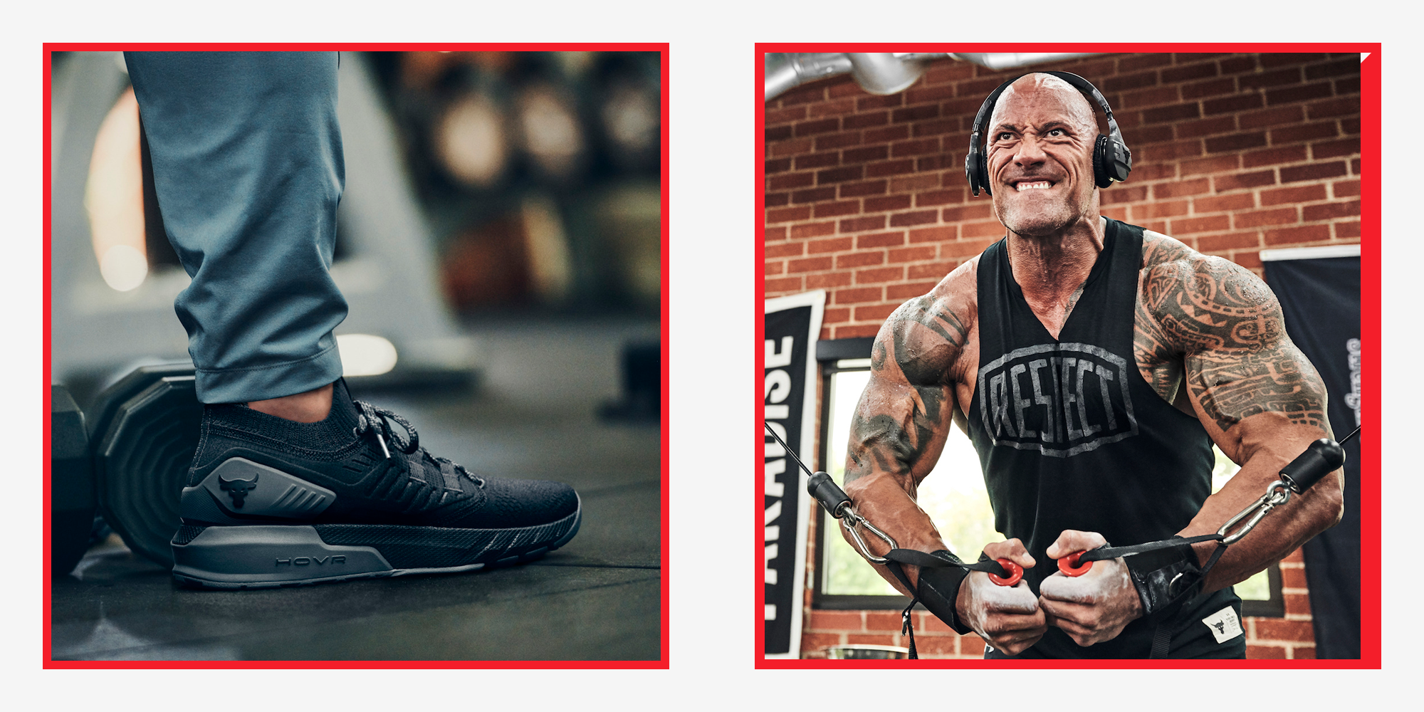 The Rock and Under Armour Project Rock