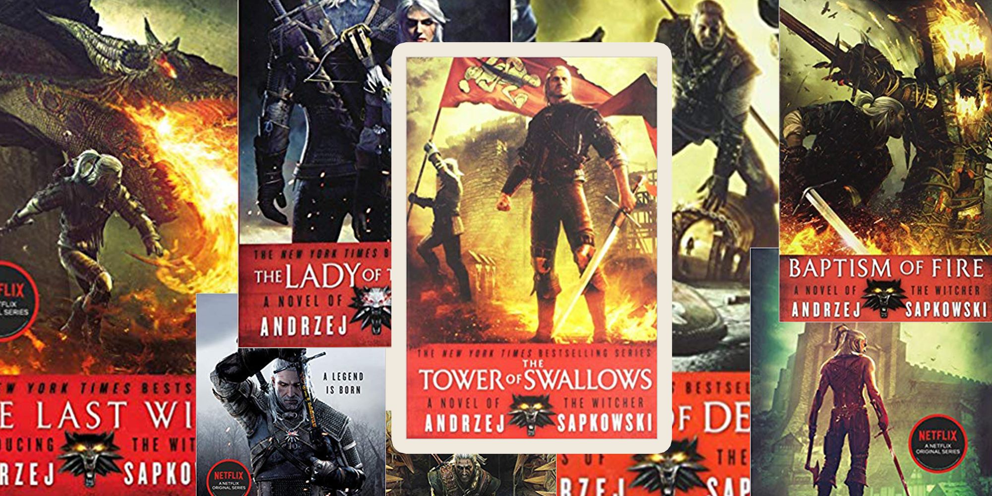 The Witcher Books In Order The Witcher Series Netflix