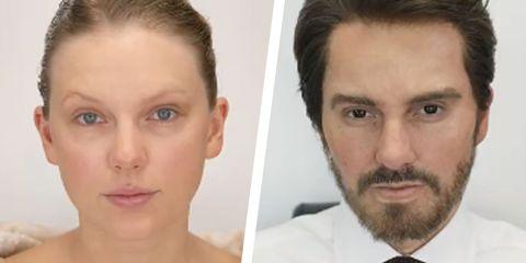 Face, Hair, Forehead, Eyebrow, Facial hair, Chin, Nose, Cheek, Skin, Jaw,
