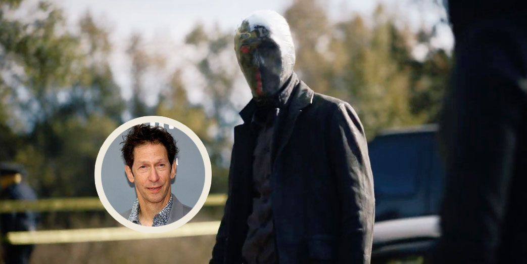 Watchmen Star Tim Blake Nelson Could Barely See Through His Mirror-Faced Mask