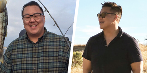 Andrew Kam weight loss transformation