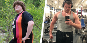 Nate Peck weight loss transformation