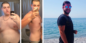 Ty Storey weight loss transformation