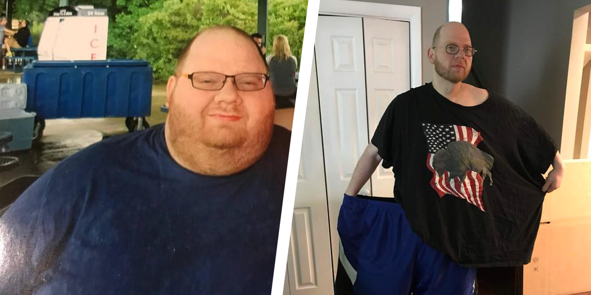 This Guy Fixed His Diet To Lose 80 Kilogram And Get Jacked