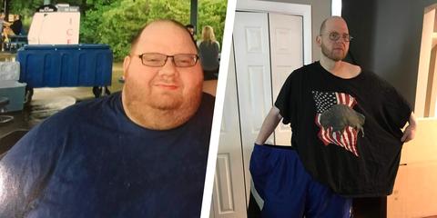 Robert Morris weight loss transformation