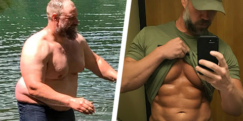 Dad Credits Amazing Weight Loss Transformation To Keto Diet, Hiking