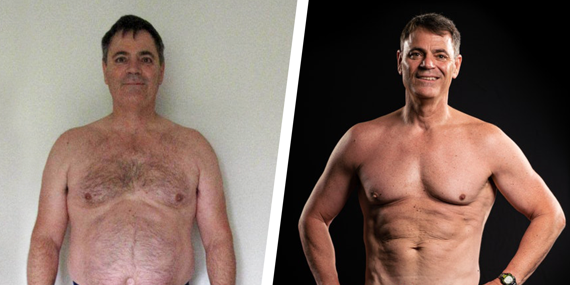 These Healthy Diet Changes Helped This Guy Lose 50 Pounds and Get Ripped