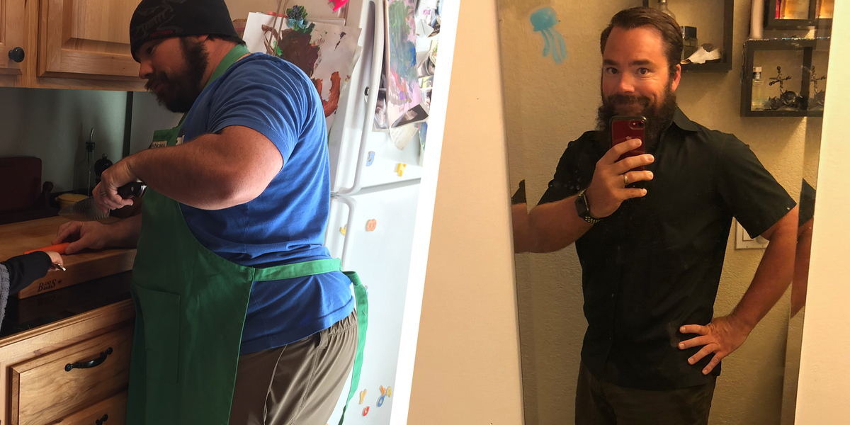 Dad Achieves 91-Pound Weight Loss Transformation Through ...