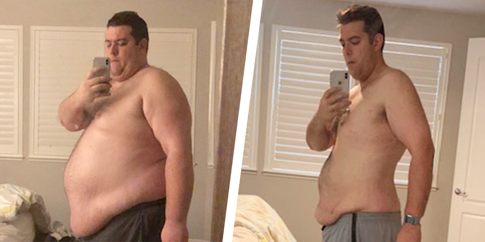Gordon Gauss weight loss transformation
