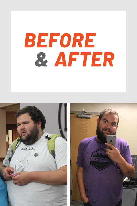 This Guy Went to Counseling—and It Helped Him Achieve a 160-Lb. Weight-Loss Transformation