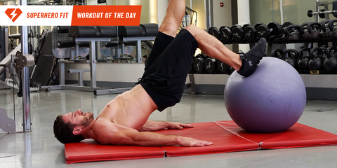 Have a Ball On Leg Day With This Killer Exercise