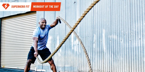 Ditch Your Run For This Superhero Cardio Rope Circuit