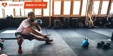 Weights, Exercise equipment, Kettlebell, Strength training, Physical fitness, Sports equipment, Sports training, Ball, Exercise, Chest,