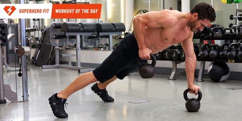 Pump Up Your Chest and Sculpt Your Back With One Dynamic Move