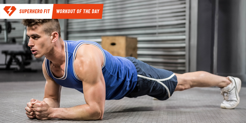 Get Superhero Ripped with This Core-Smashing Exercise