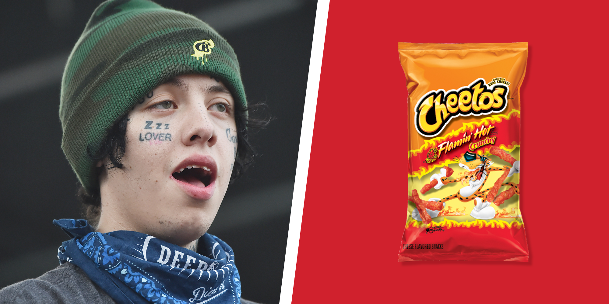 Flamin' Hot Cheetos Sent Lil Xan to the ER. Is That Even Possible?