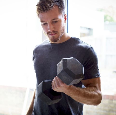 Shoulder, Arm, T-shirt, Muscle, Joint, Elbow, Neck, Chest, Sleeve, White-collar worker,