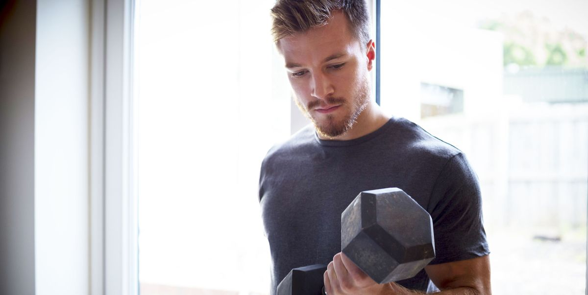 Build Muscle at Home With This Simple Dumbbell Workout