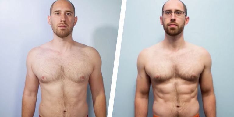 Watch This Guy Get a Six-Pack in Six-Week Transformation Video