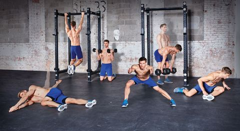 Physical fitness, Strength training, Shoulder, Exercise, Crossfit, Room, Calisthenics, Sports, Lunge, Individual sports,