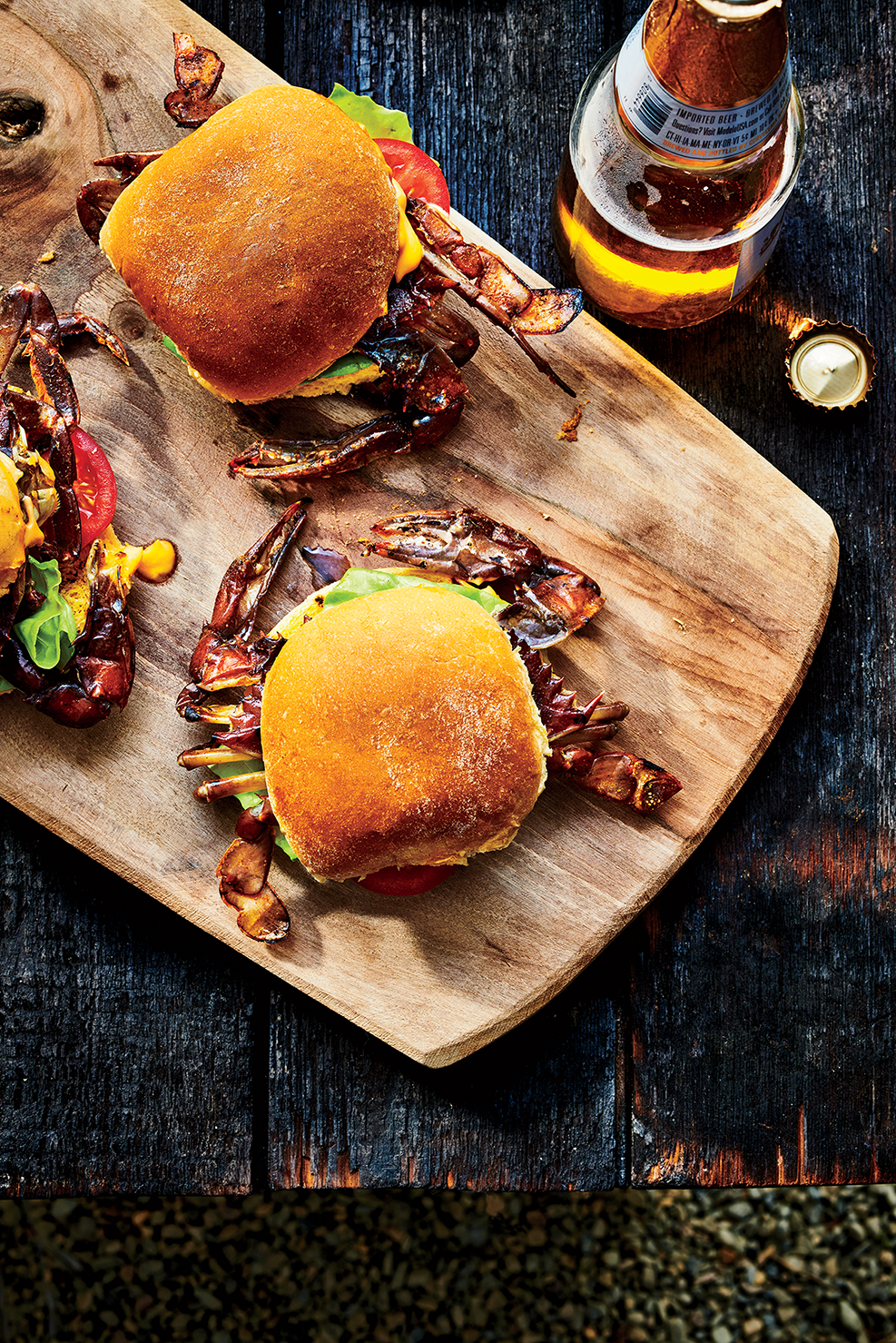 Easy Soft Shell Crab Sliders