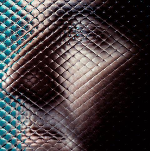 Blue, Pattern, Close-up, Design, Metal, Mesh, Chain-link fencing,