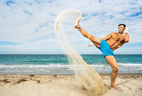 People on beach, Fun, Vacation, Jumping, Summer, Leg, Happy, Leisure, Sea, Recreation,