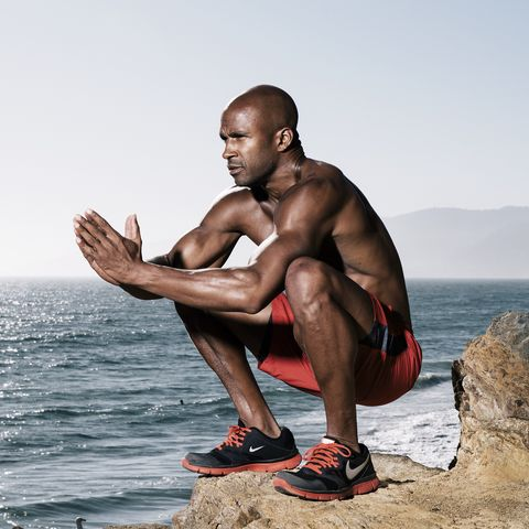 Barechested, Muscle, Physical fitness, Arm, Leg, Human, Human body, Photography, Chest, Sitting,