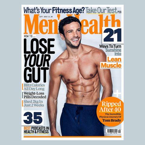Magazine, Muscle, Barechested, Abdomen, Bodybuilding, Chest, Publication, Trunk, Bodybuilder, Physical fitness,