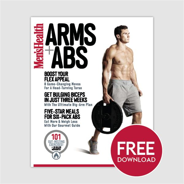 Get Your Free Men's Health Arms & Abs Digital Special