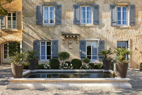 Casa de campo en la región de Champagne, Francia. Del estudio MHNA