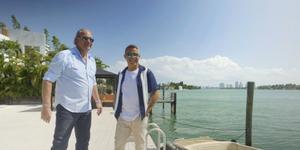 Bertín Osborne y Alejandro Sanz en Miami graban Mi casa es la tuya