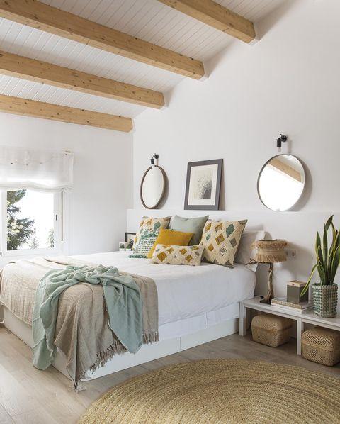 casa premia reformada dormitorio blanco con fibra