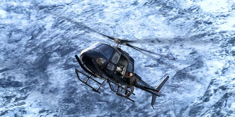 Mission Impossible - Fallout helicopter scene