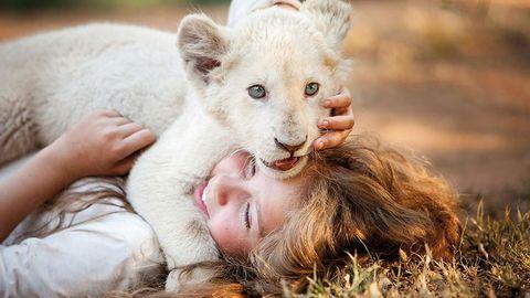 mia y el león blanco 2018, con daniah de villiers