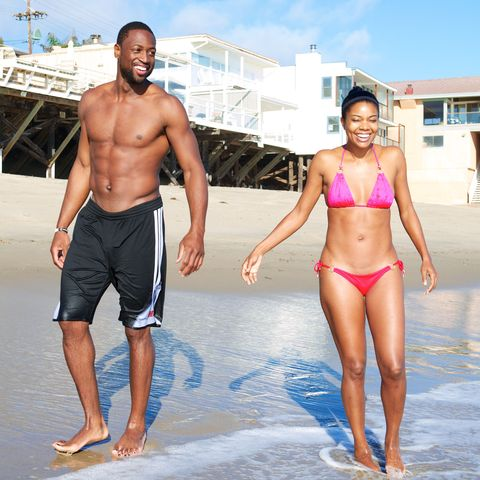 Dwyane Wade and Gabrielle Union Sighting In Malibu - September 21, 2013