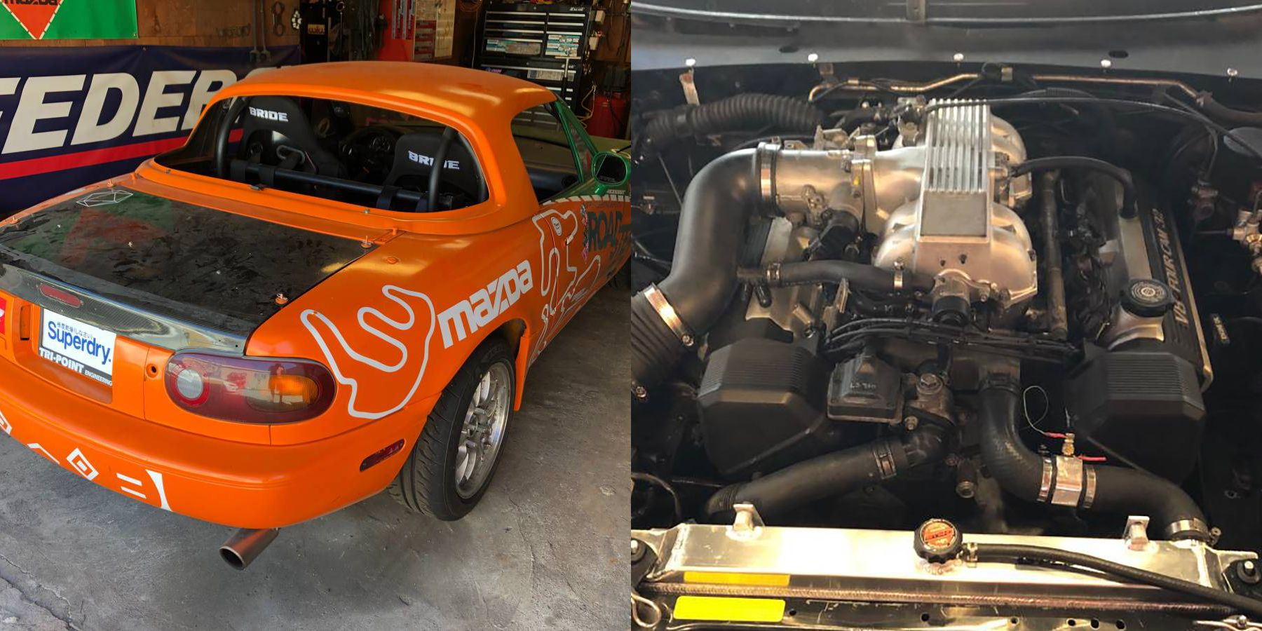 Demolish Tracks With This V-8-Swapped Miata Race Car