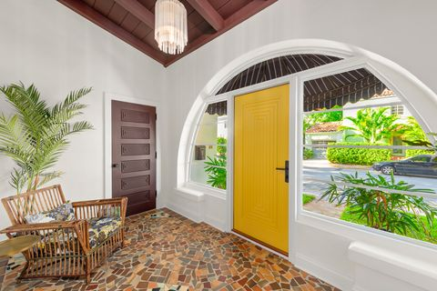 Inside A Historic Med Deco Home Listing In Miami See Photos Here