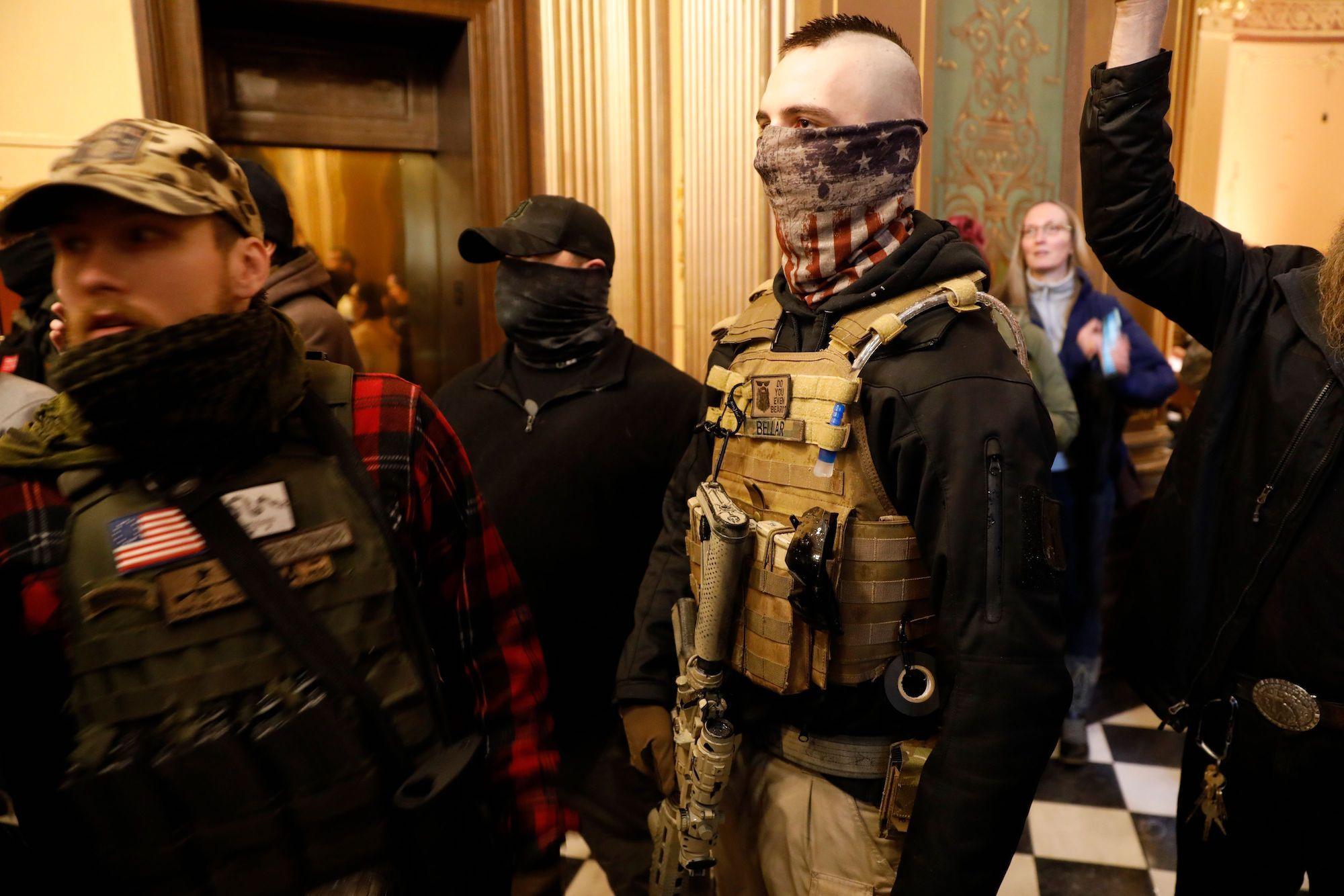American Terrorists - cover
