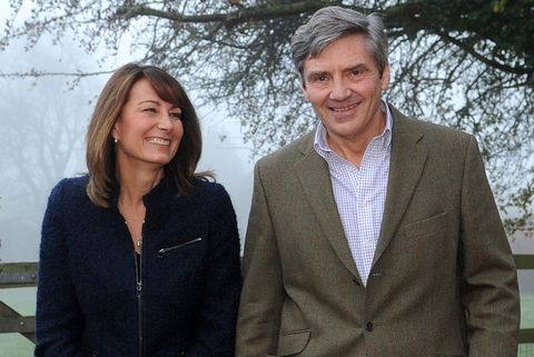 michael and carole middleton, the parent