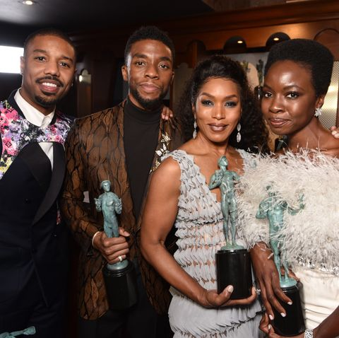 Chadwick Boseman S Black Panther Costars Pay Tribute On Social Media