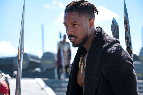 Michael B. Jordan as Erik Killmonger, Black Panther