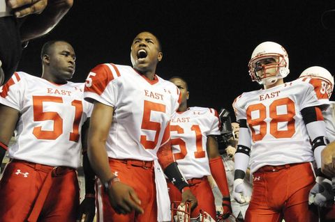 "Michael B. Jordan in ""Friday Night Lights."""
