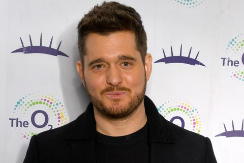 Michael Buble Is Presented With The 21 Club Award At The O2 Arena