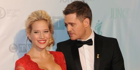 michael bublé just announced wife luisana lopilato is having a baby