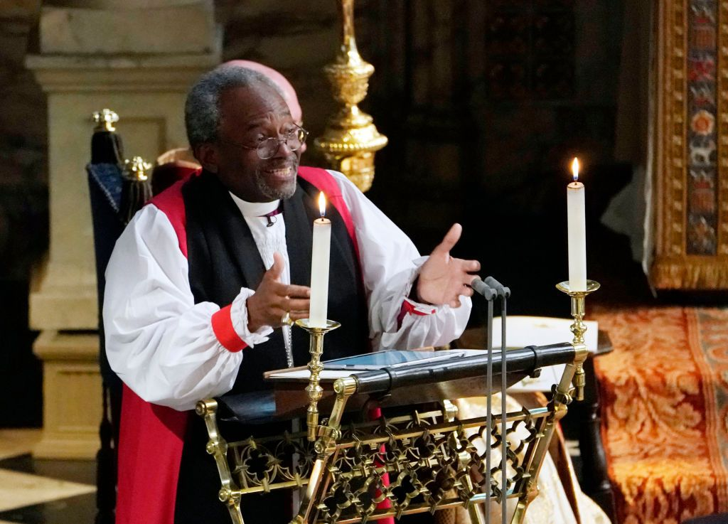 Read the Full Transcript of Bishop Michael Curry's Royal Wedding Sermon