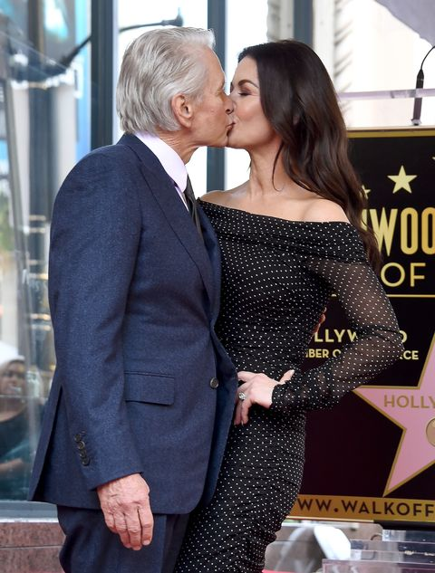 Michael Douglas Honored With Star On The Hollywood Walk Of Fame