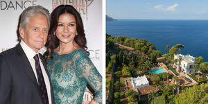 La casa de Michael Douglas y Catherine Zeta-Jones en Mallorca