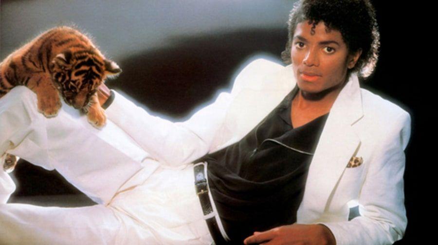 michael jackson thiller traje blanco